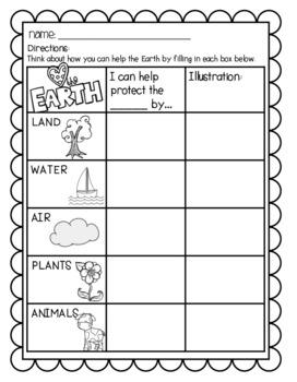 Earth Day Printables!!!
