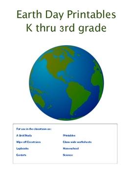 Earth Day Printables