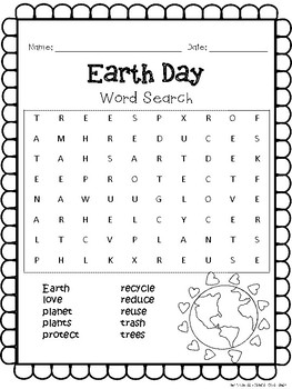 picture relating to Earth Day Word Search Printable called World Working day Printables Worksheets
