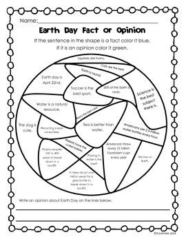 Earth Day Printables for K-3