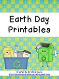 Earth Day Printables for Kindergarten
