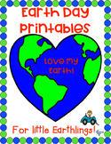 Earth Day Printables for Little Earthlings! Activities, Worksheets, No Prep
