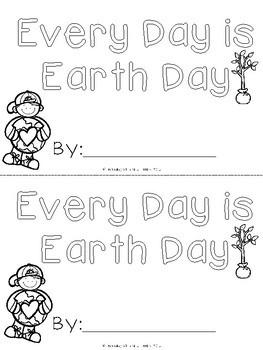 Earth Day Printables - no prep