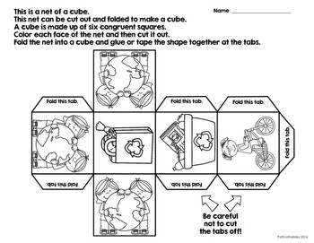 Earth Day Probability/Graphing Activity: Hands-On Math for 2nd/3rd Grade