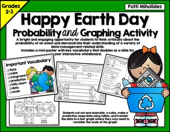 Earth Day Probability/Graphing Activity: Hands-On Math for
