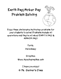Earth Day Problem Solving