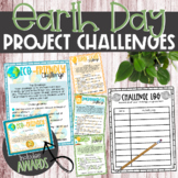 Earth Day Project Challenges (Includes Awards) - Green Awareness