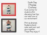 Earth Day Promise Craftivity