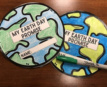 Earth Day Promise FREEBIE
