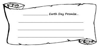 Earth Day Promise Template