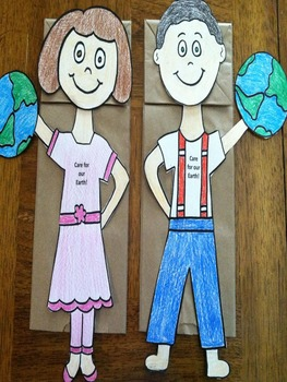Earth Day Puppets