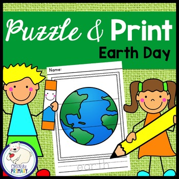 Earth Day: Puzzle & Print