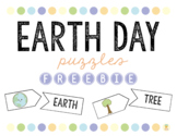 Earth Day Puzzles: FREEBIE