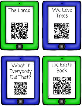 Earth Day QR Code Read Aloud Listening Centers