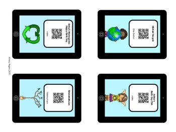 Earth Day QR Codes