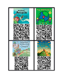 Earth Day QR code books