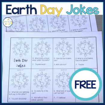 Earth Day Questions and Jokes FREEBIE