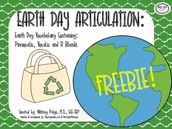 Earth Day R Freebie