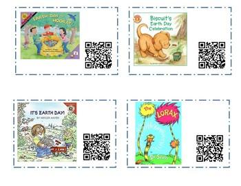 Earth Day Read Aloud QR Codes