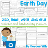Earth Day: Read, Trace, Glue, and Draw