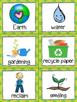 Earth Day! Read, Write, and Count the Room {Literacy and Math Center} {CCSS}