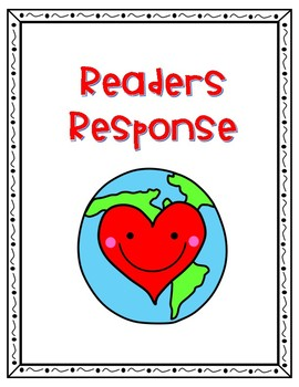 Earth Day Readers Response Activity