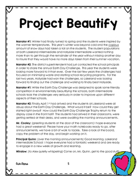Earth Day Reader's Theater and Informational Text Toolkit for Grades 4-8