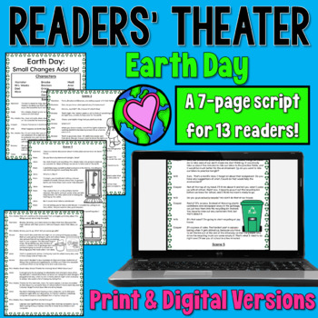 Earth Day Readers' Theater Script (12 parts)