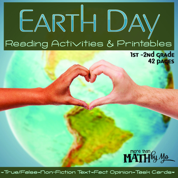 Earth Day Reading Activities and Printables