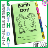 Earth Day Reading Comprehension Flip Book Activities- 2nd
