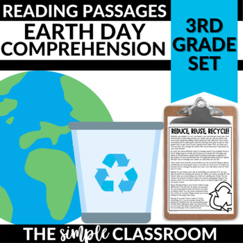 Earth Day Reading Passages and Questions |Distance Learning Coronavirus