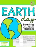 Earth Day Reading Comprehension Passages & Questions ~ Earth Day Activities