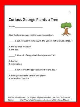 Curious George Plants A Tree