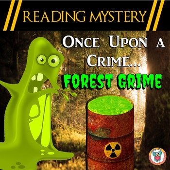 Earth Day Reading Comprehension Activity: Spelling, Rhyming,++ Reading Mystery