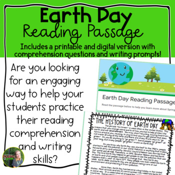 Earth Day Reading Passage