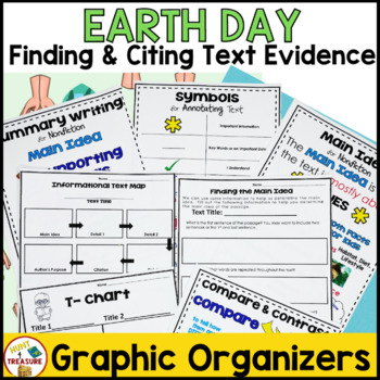 Earth Day Reading Passage- Finding and Citing Text Evidence