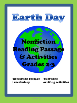 Earth Day Reading Passage Grades 2-3