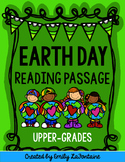 Earth Day Reading Comprehension Passage