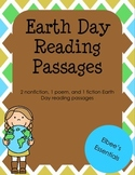 Earth Day Reading Passages