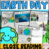 Earth Day Reading Passages (Take Home Packet First Grade)