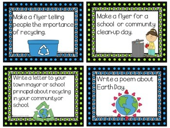 Earth Day Pack: Read & Write!