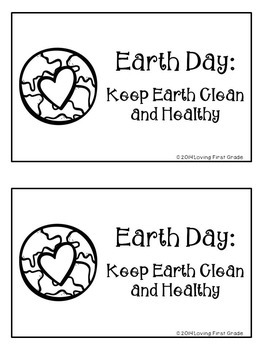 Earth Day Writing Task Cards & Printables