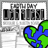 Earth Day Reading & Writing Activity {Webquest, Brochure, & Bulletin Board}