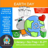 Earth Day Reading and Activity Pack