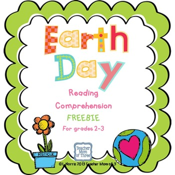 Earth Day Reading and Writing Freebie!