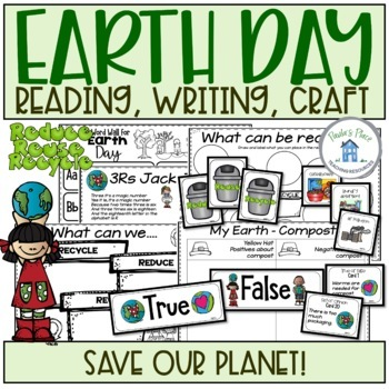 Earth Day - Reading and Writing K-1
