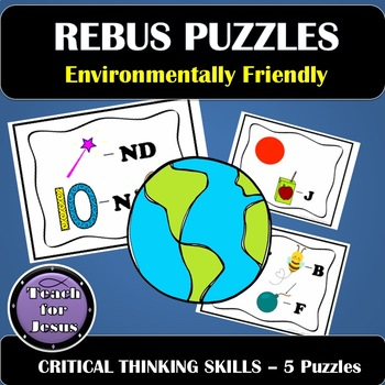 Earth Day Rebus Puzzles