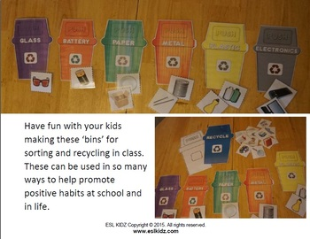 Earth Day Recycle Activity