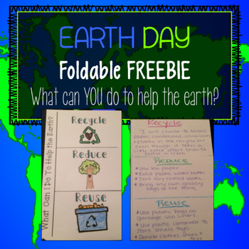 Earth Day Foldable FREEBIE!