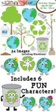 Earth Day / Recycle Set: Clip Art Graphics for Teachers